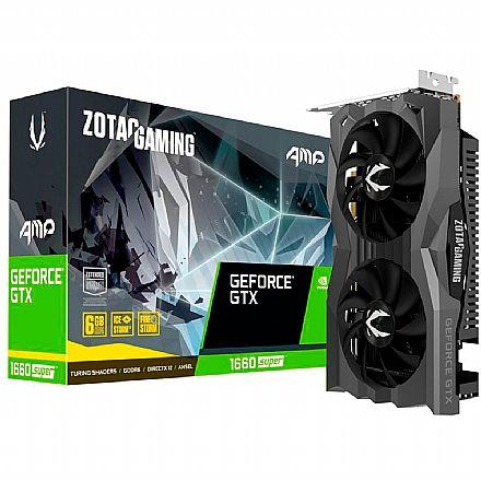 GeForce GTX 1660 Super 6GB GDDR6 192bits - Zotac AMP ZT-T16620D-10M