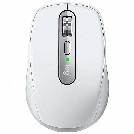Mouse sem Fio Logitech MX Anywhere 3 - Bluetooth ou USB Unifying - Logitech Flow - Cinza - 910-005993