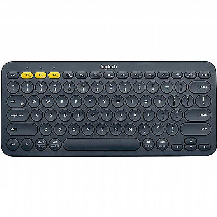 Teclado sem Fio Logitech K380 - Padrão US - Bluetooth - 920-007564