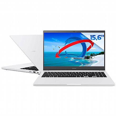 "Notebook Samsung Book E35 - Tela 15.6"" Full HD, Intel i3 1115G4, RAM 8GB, SSD 128GB + HD 1TB, Windows 10 - Branco - NP550XDA-KT2BR"