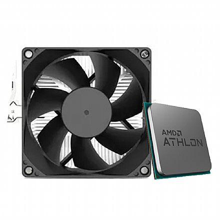 AMD Athlon 320GE Dual Core - 3.5GHz - Cache 4MB - AM4 - TDP 35W - YD32GEC6FHMPK - Multipack