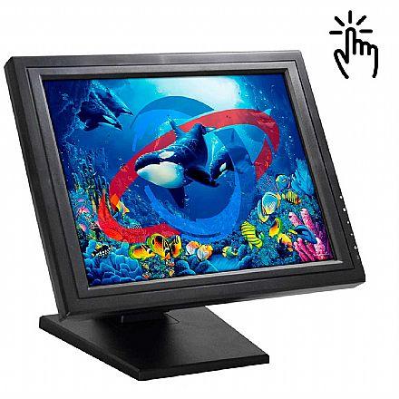 "Monitor 15"" Touch K-Mex LP-1503 - VGA - LP1503MB0010B0X"