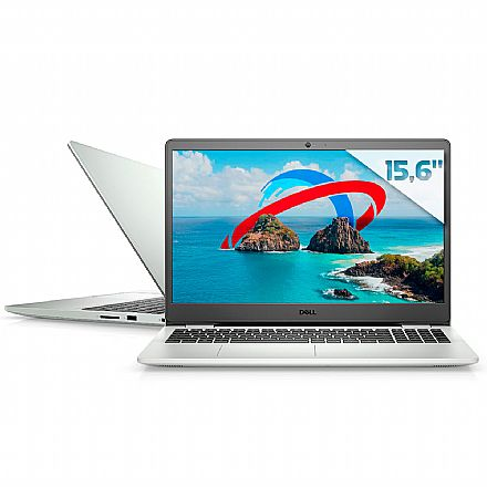 "Notebook Dell Inspiron i15-3501-M46S - Tela 15.6"", Intel i5 1035G1, RAM 16GB, SSD 256GB + HD 2TB, Windows 10 - Prata"