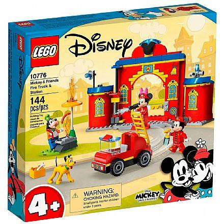 LEGO Disney - Caminhão e Quartel de Bombeiros do Mickey e Amigos - 10776