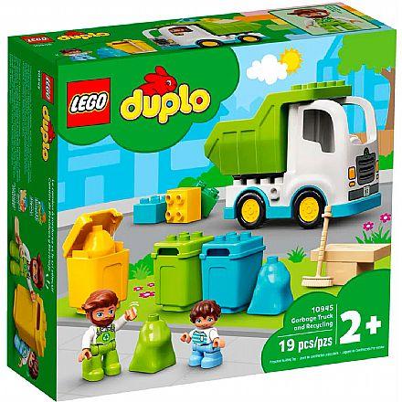 LEGO DUPLO - Caminhão do Lixo e Reciclagem - 10945