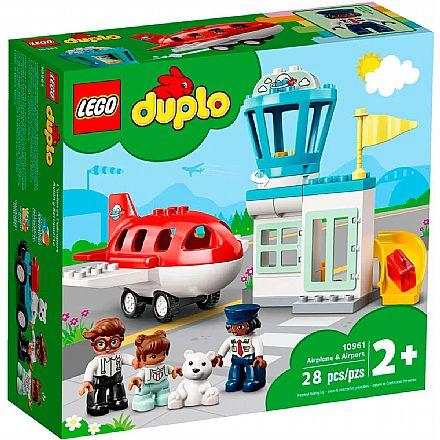 LEGO DUPLO - Avião e Aeroporto - 10961