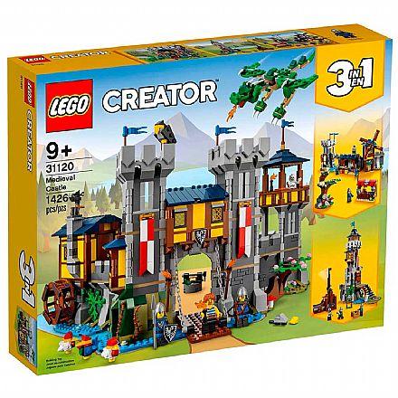 LEGO Creator 3 Em 1 - Castelo Medieval - 31120