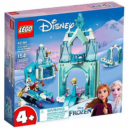 LEGO Disney Princess - O País Encantado do Gelo de Anna e Elsa - 43194