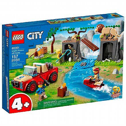 LEGO City Wildlife - Off-Roader para Salvar Animais Selvagens - 60301