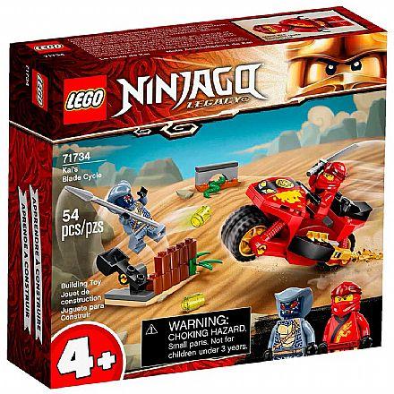 LEGO Ninjago - Motocicleta de Lâminas do Kai - 71734