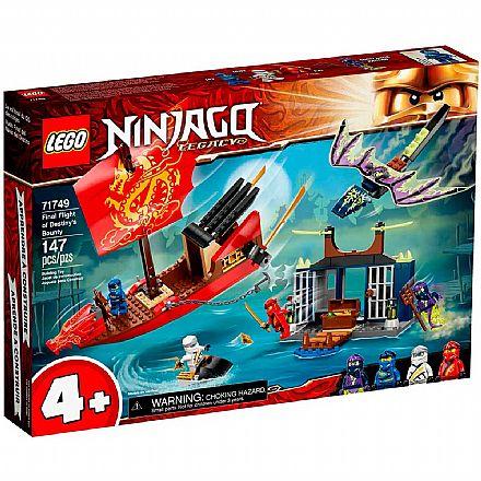 LEGO Ninjago - Legacy Voo Final do Barco do Destino - 71749