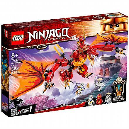 LEGO Ninjago - Ataque do Dragão do Fogo - 71753