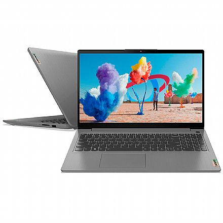 "Notebook Lenovo Ideapad - Tela 15.6"" Full HD, Intel i7 1165G7, RAM 8GB, SSD 256GB, Video Intel Iris Xe, Windows 10 - 82MD0000BR"