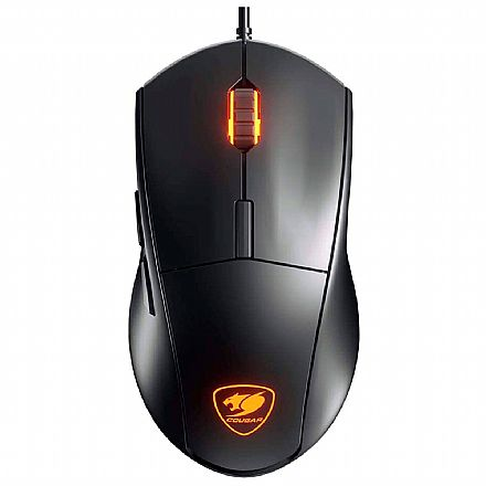 Mouse Gamer Cougar Minos XT - 4000dpi - 6 Botões Programáveis - RGB - CGR-MINOS XT