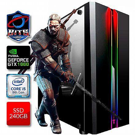 PC Gamer Bits 2021 - Intel i5 9400F, 8GB, SSD 240GB, GeForce GTX 1660 - Powered by Asus
