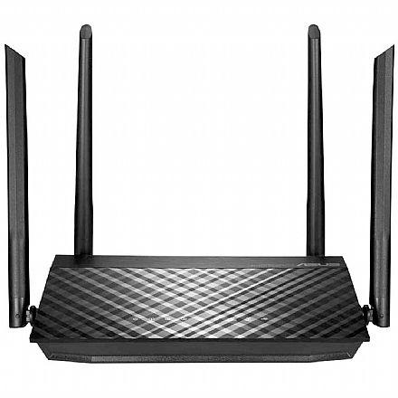 Roteador Wi-Fi Asus RT-AC59U AC1500 - Gigabit - MU-MIMO - 4 antenas - 90IG0540-BY8400