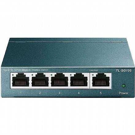 Switch 5 Portas TP-Link TL-SG105 - Gigabit