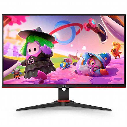 "Monitor Gamer 24"" AOC Speed 24G2HE5 - Full HD IPS - Adaptive-Sync - 75Hz - 1ms - HDMI/VGA"
