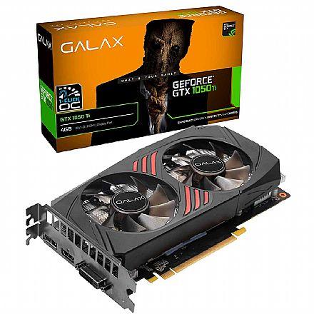 GeForce GTX 1050Ti 4GB GDDR5 128bits - Galax OC 50IQH8DSQ3CC