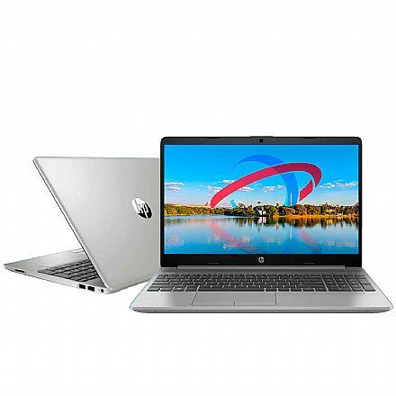 "Notebook HP 256 G8 - Tela 15.6"", Intel i3 1005G1, RAM 12GB, SSD 256GB, Windows 10 - Prata - 49V43LA#AK4"