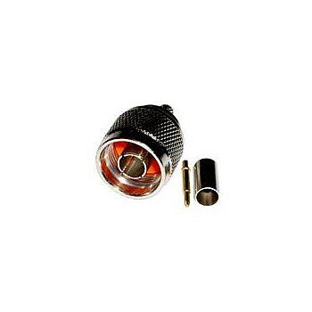 Conector N Macho RGC 58 - Para PigTail