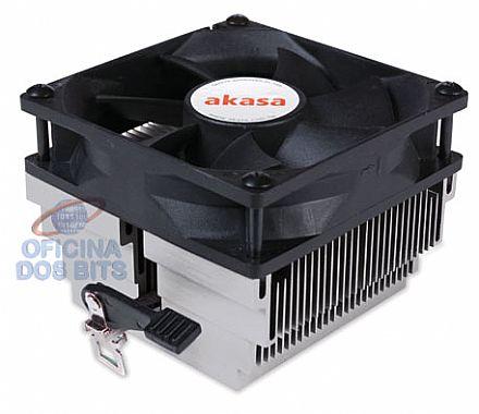 Cooler Akasa p/ AMD AK-866 (754 / 939 / 940 / AM2 / AM2+ / AM3)