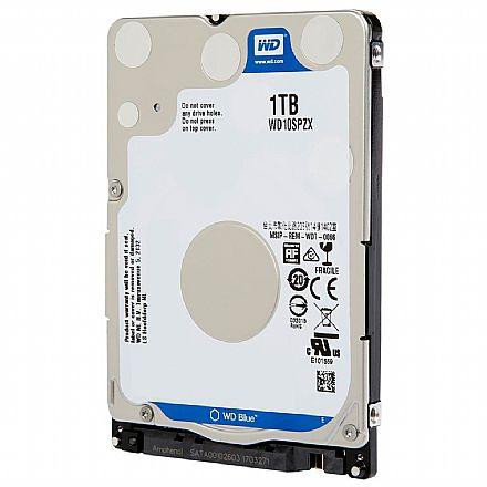 HD 1TB para Notebook Western Digital - 128MB Cache - 5400RPM - Slim 7mm - WD10SPZX