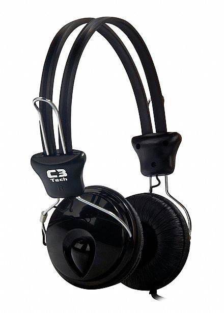 Fone de Ouvido C3 Tech Gamer Tricerix - com Microfone - Conector 3.5mm - MI-2280ERC