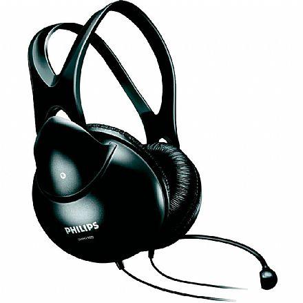 Fone de Ouvido Philips SHM1900/00 - Headset com microfone - Conector 3.5mm