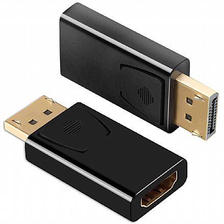 Adaptador Conversor DisplayPort para HDMI - (DisplayPort M X HDMI F)