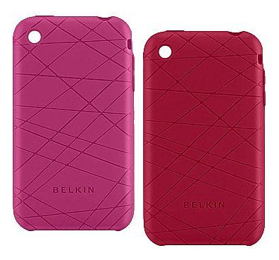 Kit capa para iPhone 3G - Belkin Vector Duo Rosa e Vermelho - F8Z472-045-2