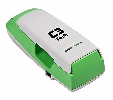 Carregador de Pilhas C3 Battery Charger Pro II - UC-CHG2 GR - para Pilhas Recarregáveis e Alcalinas